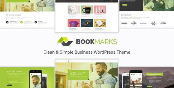 Bookmarks - قالب وردپرس کسب و کار ساده