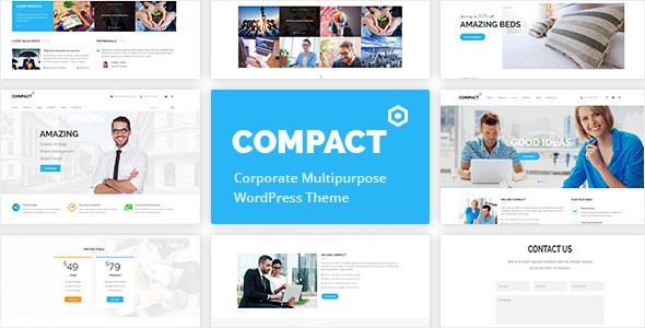 قالب Compact - قالب وردپرس چند منظوره شرکتی