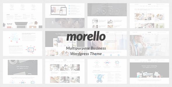 قالب Morello - قالب وردپرس کسب و کار چند منظوره