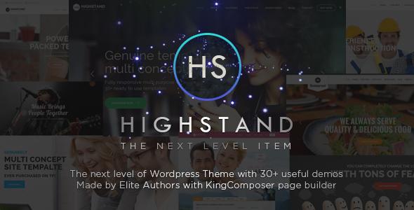 قالب Highstand - قالب وردپرس چند منظوره ریسپانسیو