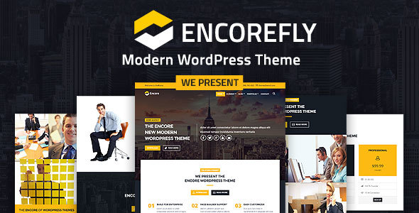 قالب Encorefly - قالب مدرن وردپرس