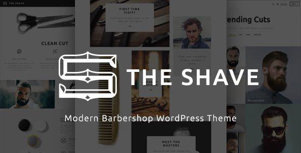 قالب The Shave | BarberShop - قالب وردپرس ساده