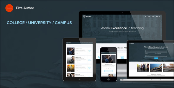 قالب ATENA - قالب وردپرس سایت دانشگاه و پردیس