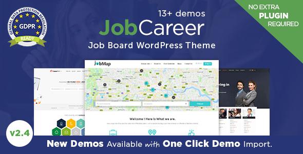 JobCareer - قالب وردپرس کاریابی