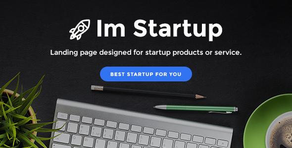 ImStartup - قالب وردپرس صفحه فرود استارتاپ