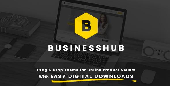 قالب Business Hub - قالب وردپرس برای کسب و کارهای آنلاین