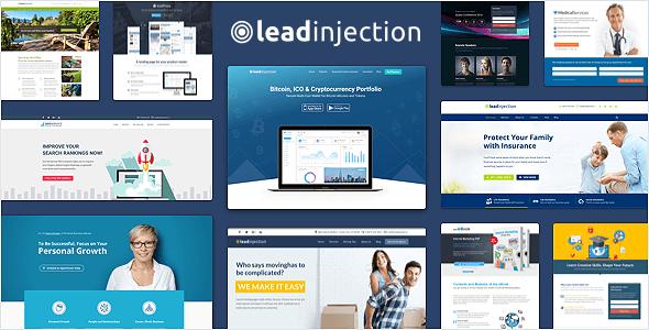 قالب Leadinjection - قالب وردپرس لندینگ پیج