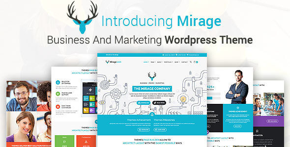 MIRAGE - قالب وردپرس کسب و کار و بازاریابی