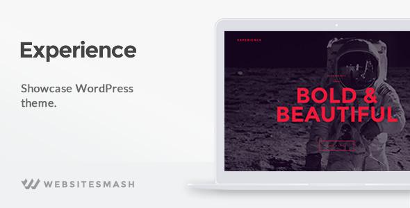 قالب Experience - قالب وردپرس ویترین