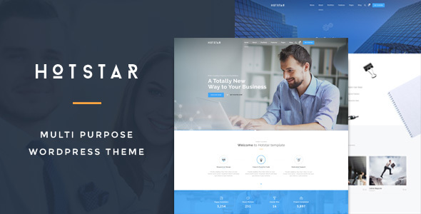 HotStar - قالب چند منظوره کسب و کار