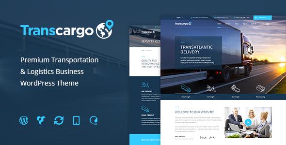 قالب Transcargo - قالب وردپرس شرکت حمل و نقل و لجستیک