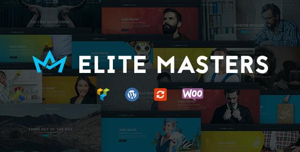قالب EliteMasters - قالب وردپرس چند منظوره کسب و کار