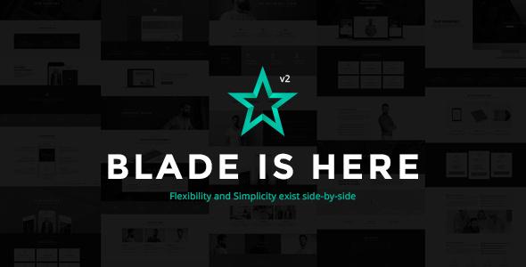قالب Blade - قالب کاره وردپرس