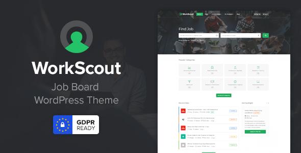 قالب WorkScout - قالب وردپرس مشاغل