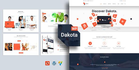 قالب Dakota - قالب وردپرس کسب و کار چند منظوره