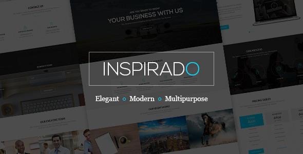 قالب Inspirado - قالب وردپرس سایت رویداد