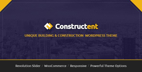قالب Constructent - قالب وردپرس ساخت و ساز