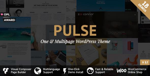 قالب Pulse - قالب وردپرس برتر