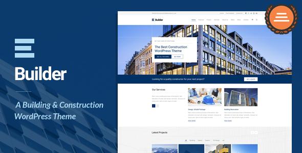Builder - قالب وردپرس ساخت و ساز ساختمان