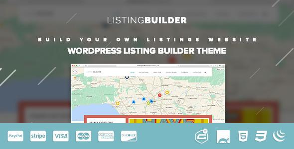 قالب ListingBuilder - قالب وردپرس دایرکتوری