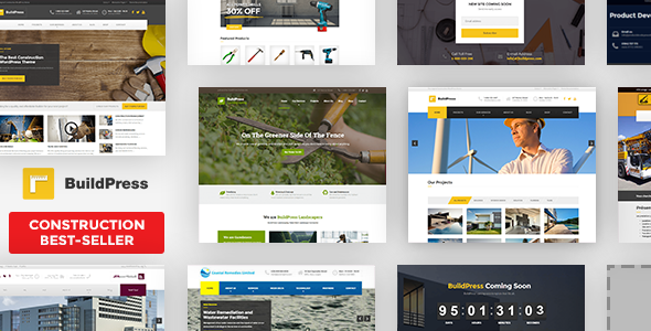 قالب بیلدپرس | BuildPress - پوسته وردپرس ساخت و ساز و معماری