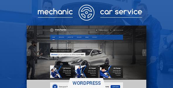 قالب Mechanic - پوسته وردپرس مکانیک خودرو