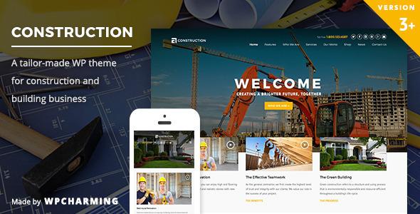Construction - قالب وردپرس ساخت و ساز