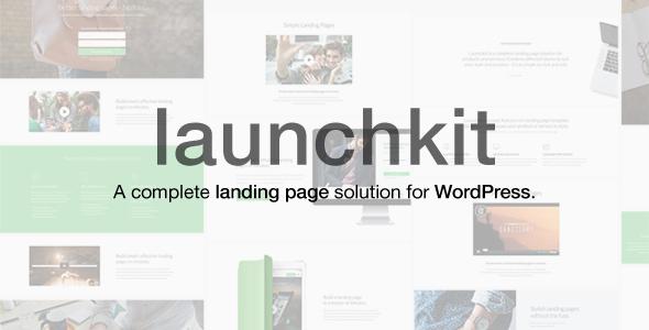 قالب Launchkit - قالب وردپرس صفحه فرود و مارکتینگ