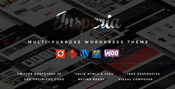 Insperia - قالب وردپرس
