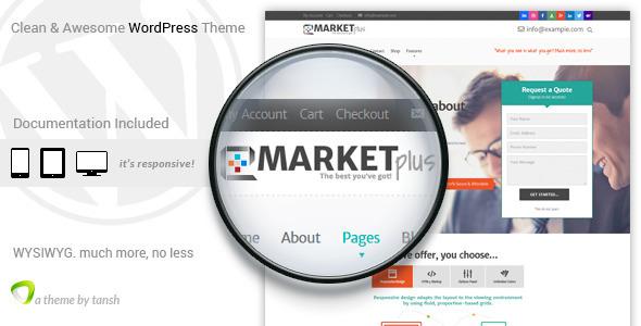 قالب Marketplus - قالب وردپرس مارکتینگ