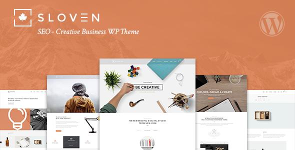 قالب Sloven SEO - قالب وردپرس کسب و کار