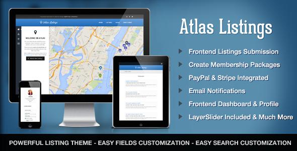 قالب Atlas Directory & Listings - قالب وردپرس فوق العاده