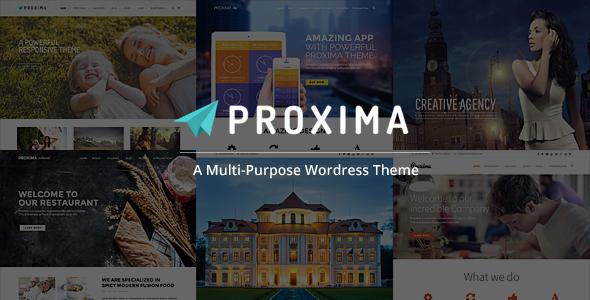 Proxima - قالب وردپرس چند منظوره کسب و کار