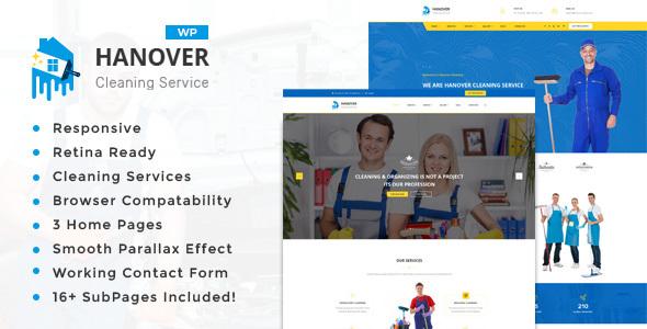 قالب Hanover - قالب سایت شرکتی ساده