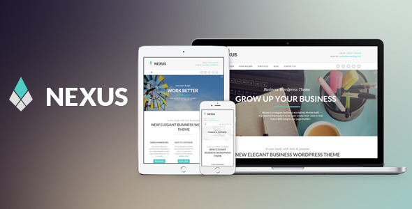 قالب Nexus - قالب وردپرس سایت کسب و کار