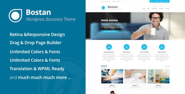 Bostan Business - قالب کسب و کار وردپرس