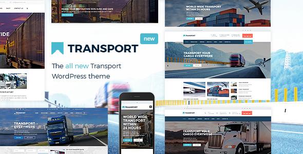 قالب Transport - قالب سایت شرکت حمل و نقل