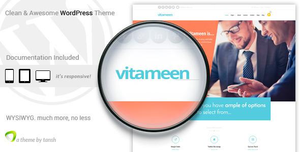 قالب ویتامین   Vitameen - قالب وردپرس کسب و کار ریسپانسیو