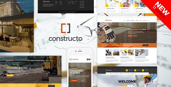قالب کونستروکتو | Constructo - قالب شرکتی و فروشگاهی ساخت و ساز و نوسازی