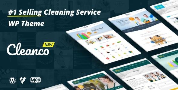 قالب Cleanco - قالب وردپرس شرکت خدمات تمیزکاری