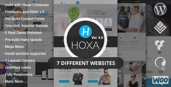 قالب Hoxa - قالب وردپرس چند منظوره
