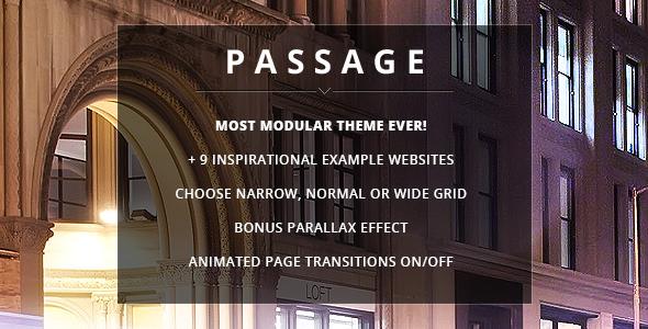 Passage - قالب وردپرس چند منظوره