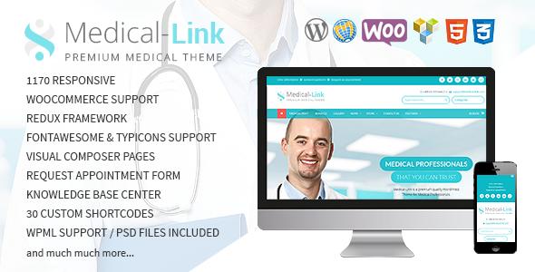 قالب Medical-Link - قالب وردپرس پزشکی