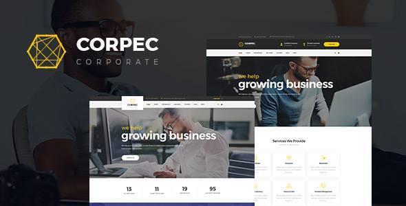 قالب Corpec - قالب وردپرس شرکتی