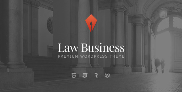 قالب LawBusiness - قالب وردپرس وکالت