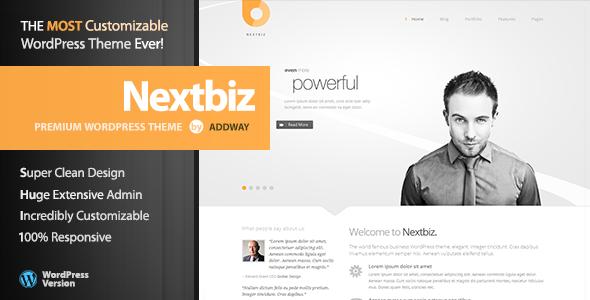 Nextbiz - قالب وردپرس چند منظوره ریسپانسیو