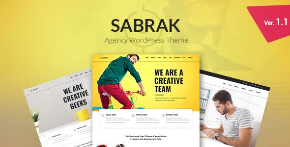 قالب Sabrak - پوسته وردپرس آژانس
