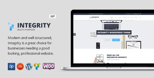 قالب Integrity - قالب وردپرس کسب و کار ریسپانسیو