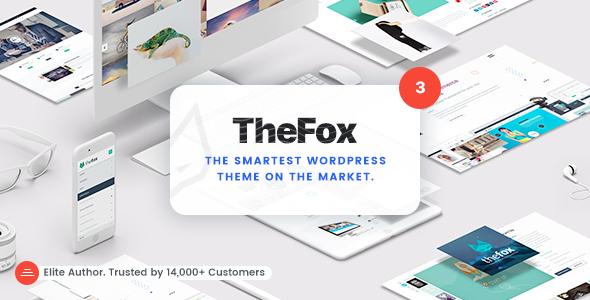 قالب TheFox - قالب وردپرس چند منظوره ریسپانسیو