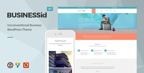 قالب BusinessId - قالب وردپرس کسب و کار ریسپانسیو